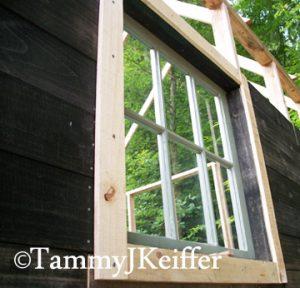 Cabin Window & Frame