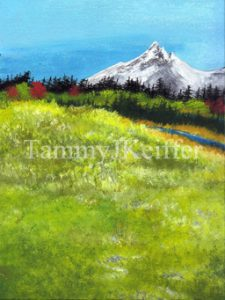 Meadow View Painting | Image 6