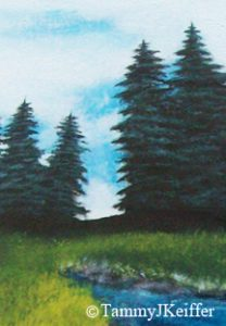 Pine Tree - Landscape Painting 1