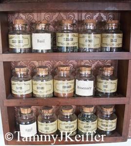 Antique Spice Set