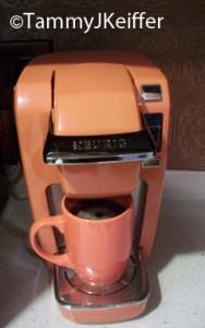 Orange Keurig Single Serve