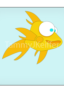 Gold Fish Character Image 3
